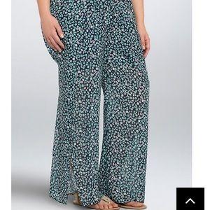 Torrid Floral Wide Leg Pants 2X
